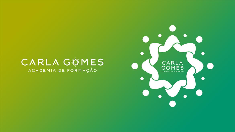 Logótipo negaivo Centro de Estética Carla Gomes