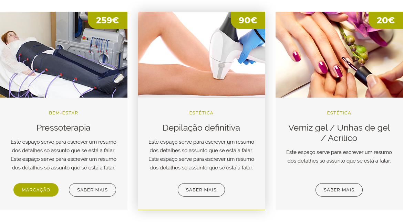 Website para Serviços