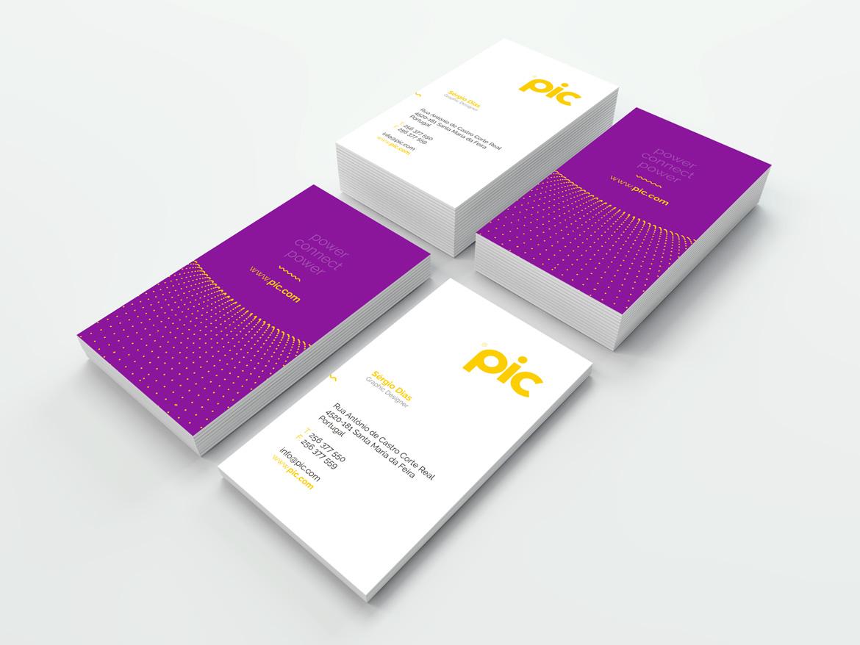 Design de cartão de visita