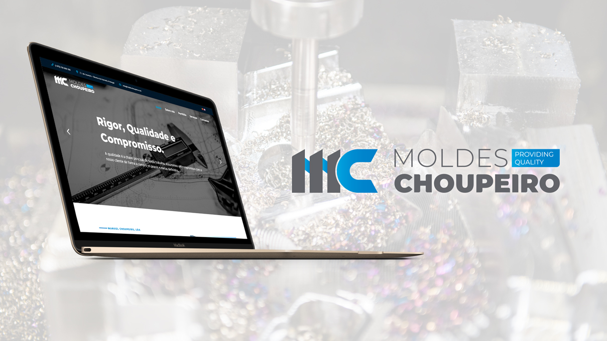 Desenvolvimento de Website Moldes Choupeiro