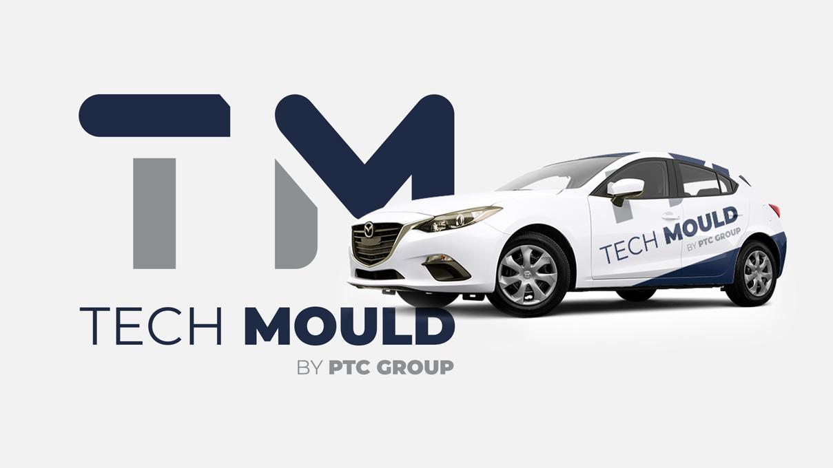 Design de Logótipo Tech Mould PTC Group