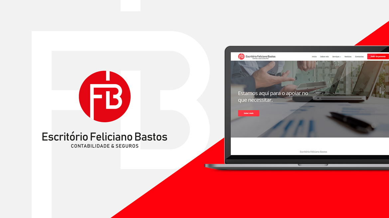Website para Contabilista Feliciano Bastos